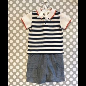 First Impressions- Baby Boy Outfit